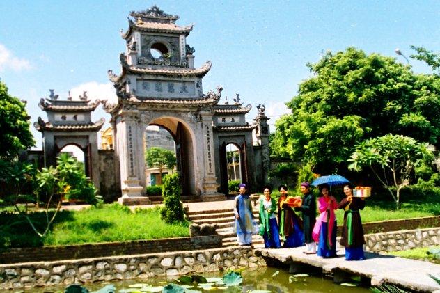Hà Nội- Văn Miếu Xích Đằng - Chùa Chuông - Đền Thiên Hậu