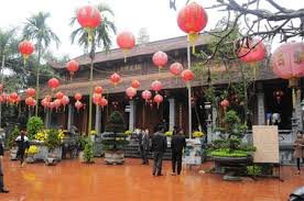 Hà Nội  - Chùa Tùng Vân - Đình Thổ Tang - đền Sóc