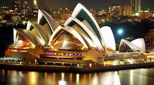 Hà Nội- Sài Gòn - Sydney - Canberra - Melbourne - Sài Gòn - hà Nội